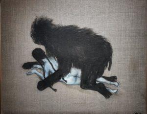 koszmar-w-malarstwie-magdalena-cybulska-nocny-zwierz