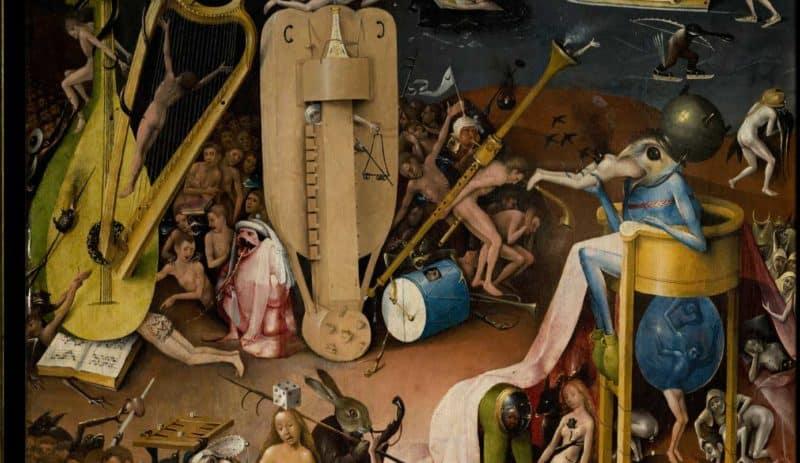 Hieronim-Bosch-Ogród-Ziemskich-Rozkoszy-diabelska-muzyka.