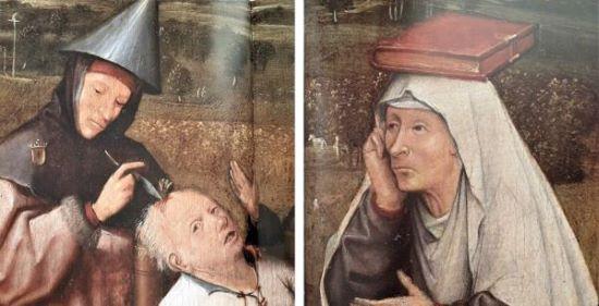 Hieronim-Bosch-Pochwała-głupoty-twarze.