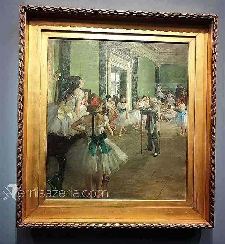 Edgar Degas Klasa tańca
