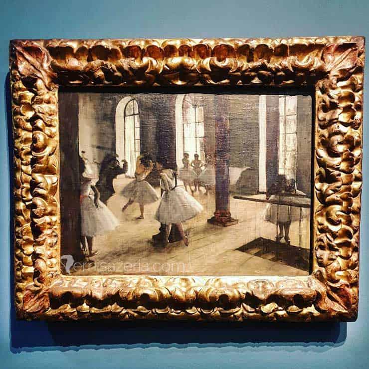 Edgar Degas La Répétition au foyer de la danse