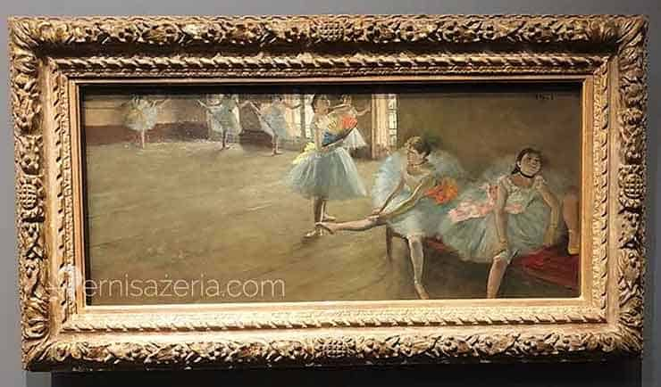 Edgar Degas Lekcja tańca 1880