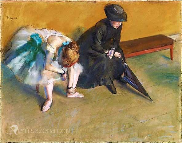 Edgar Degas Oczekiwanie