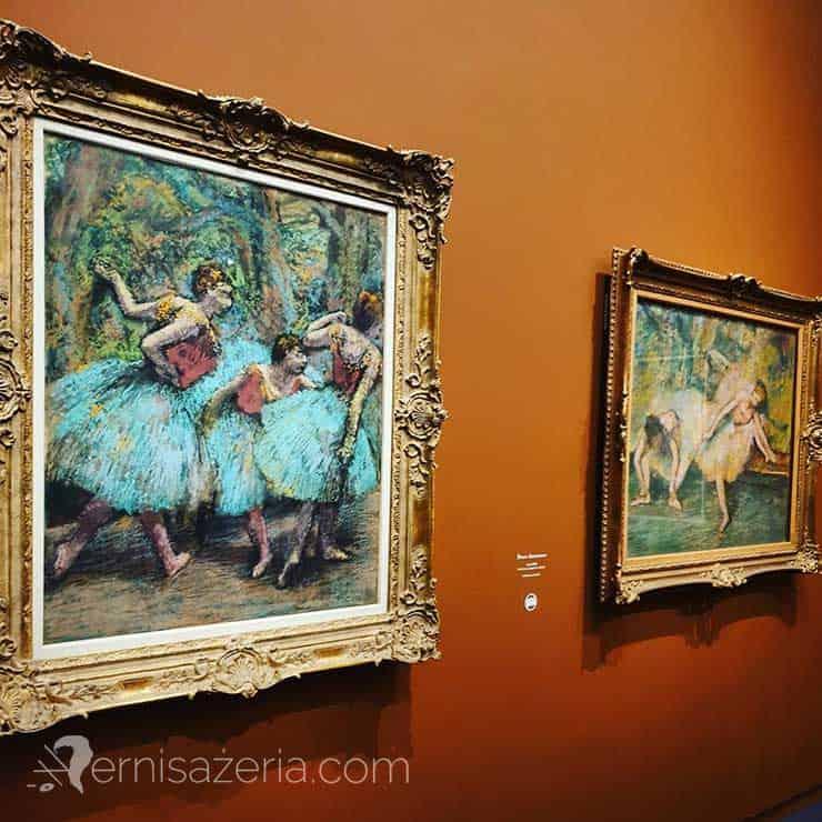 Edgar Degas i opera wystawa Degas à lOpéra