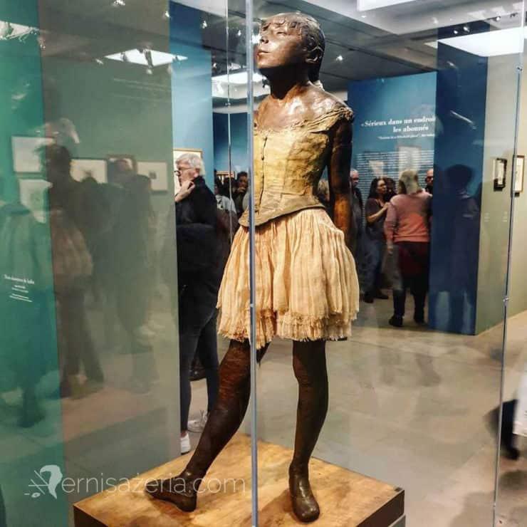 Edward Degas Mała czternastoletnia tancerka