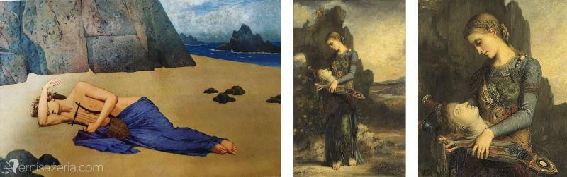 Alexandre-Seon-Lament-Orfeusza-Gustave-Moreau-Orfeusz-Muzeum-Orsay