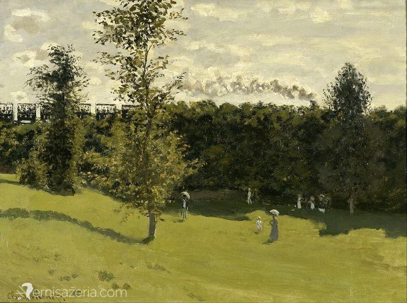 Claude-Monet-Pociag-jadacy-wśród-pol-Muzeum-Orsay