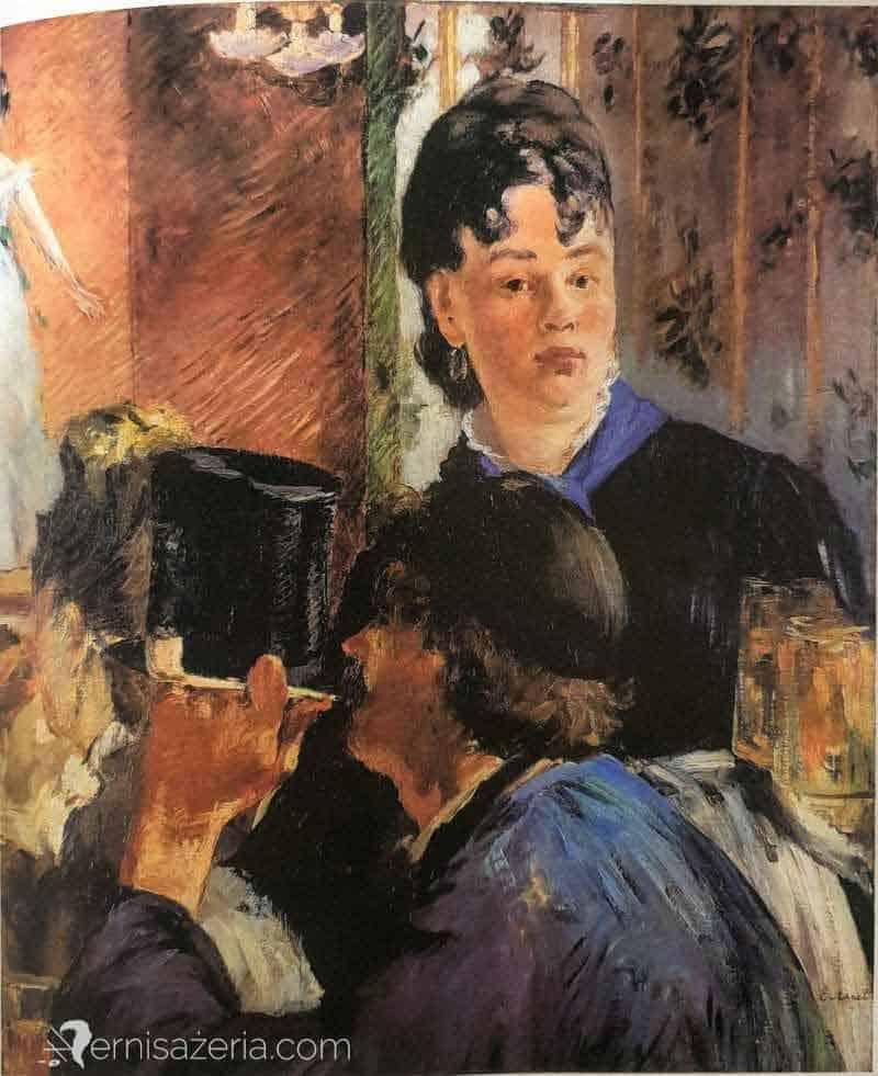 Edouard-Manet-Kelnerka-w-piwiarni-Muzeum-Orsay