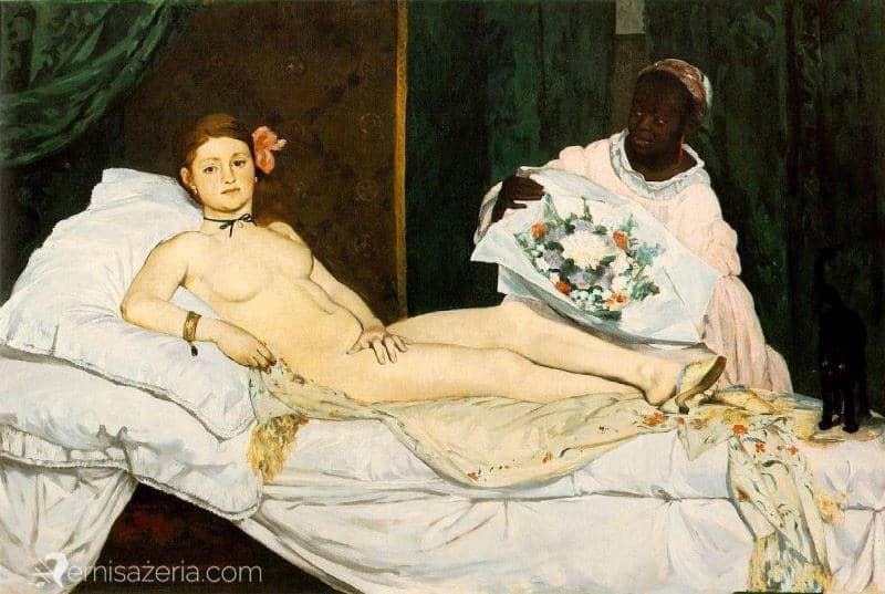 Edouard-Manet-Olympia-Muzeum-Orsay1863