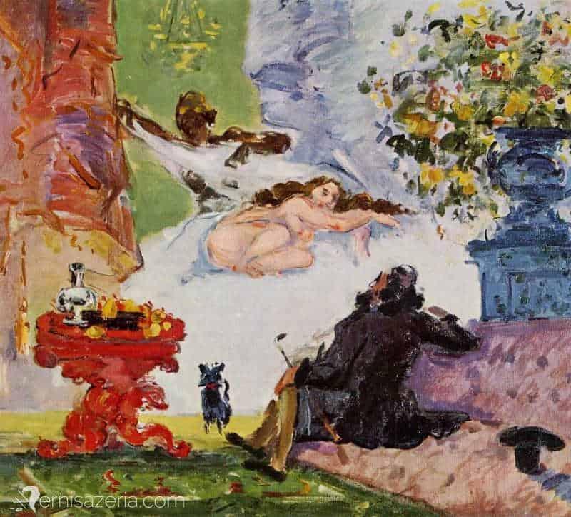 Paul-Cezanne-Nowoczesna-Olimpia-Muzeum-Orsay