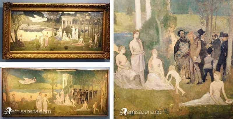 Henri-de-Toulouse-Lautrec-parodia-Bois-sacre-Pierre-Puvis-de-Chavannes-1884