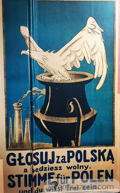 Przedwojenny-plakat-Plebiscyt-slaski-Wystawa-Niepodlegla-Kordegarda.-Galeria-Narodowego-Centrum-Kultury