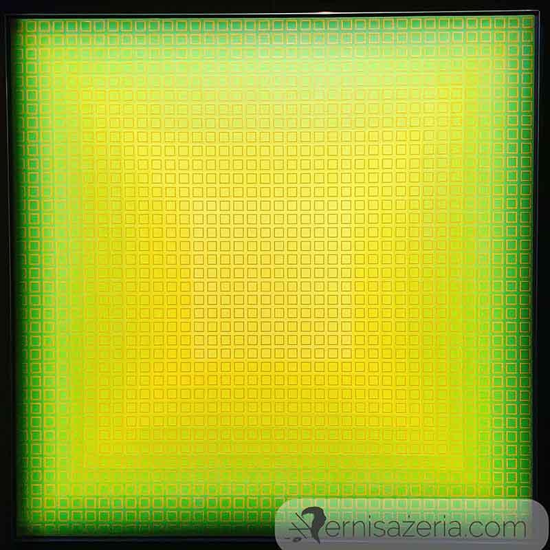 Julian-Stanczak-Filtration-Green