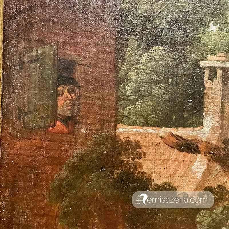 Jacob Wynants Szarlatan w wiosce detal 2