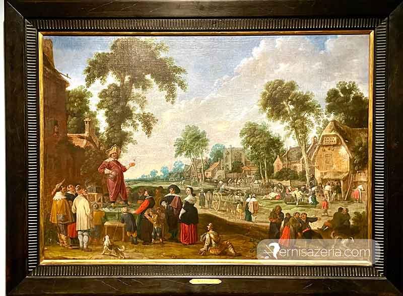 Jacob Wynants Szarlatan w wiosce